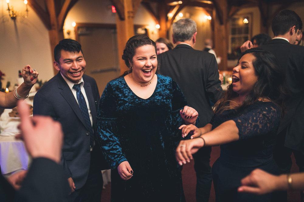 Dance Floor Fun Cranbury Inn Wedding