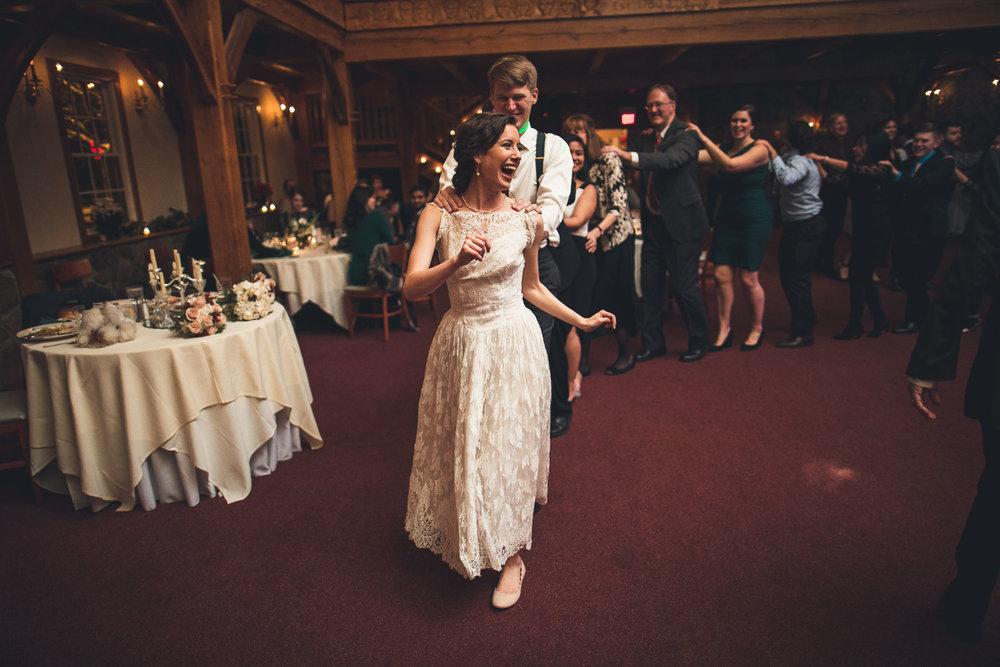 Hop on the Train Cranbury Inn Wedding