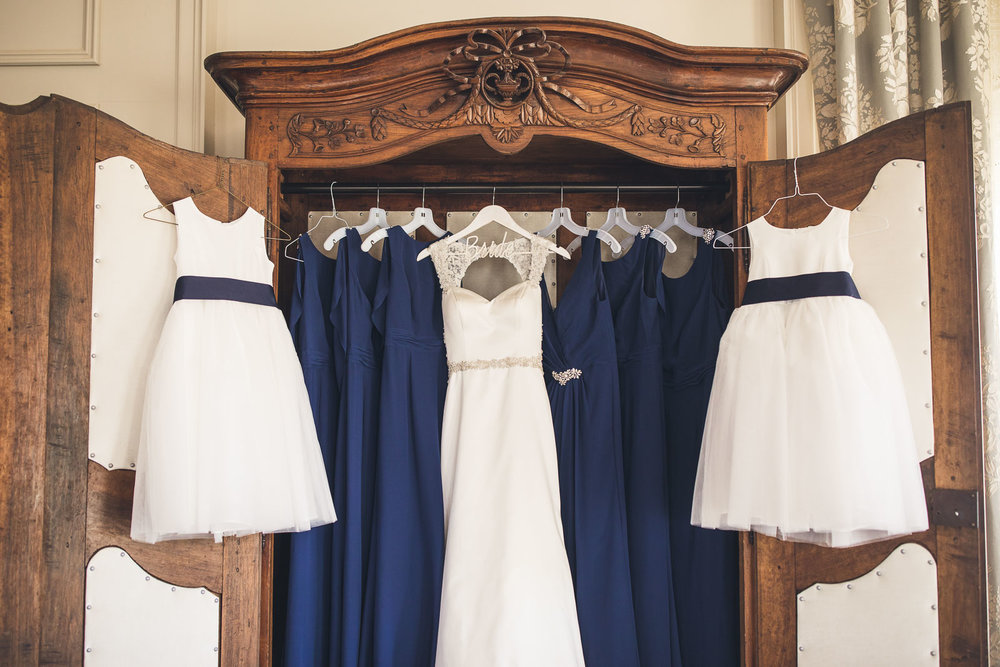 Dresses ready to be worn
