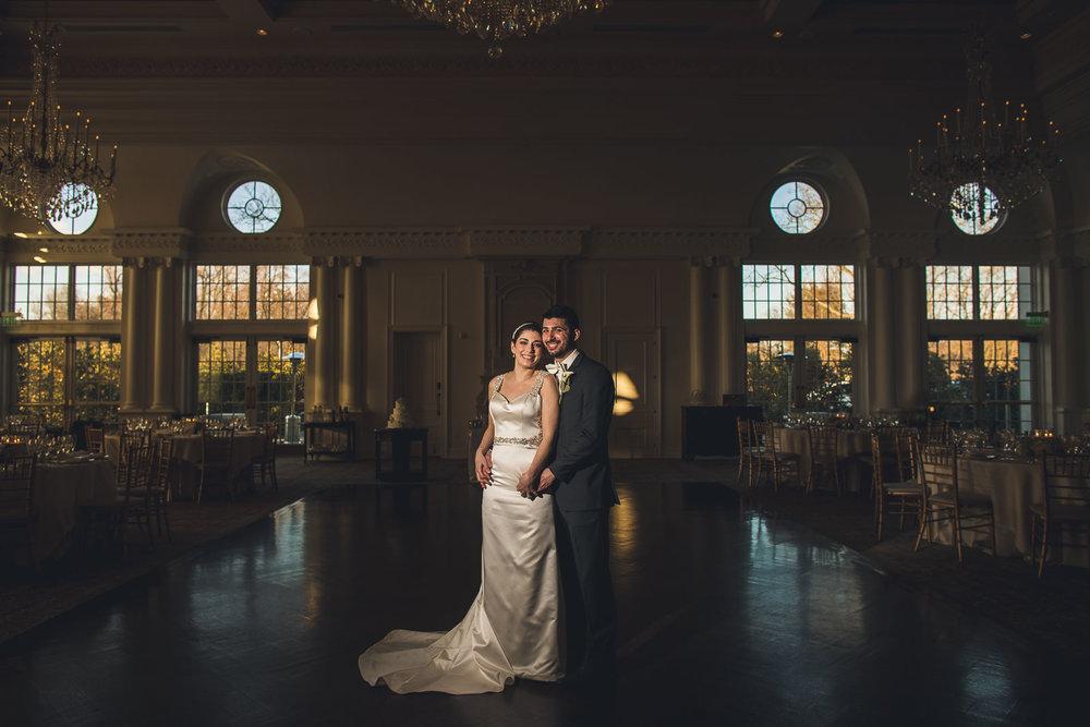 Park Chateau Wedding Reception Portrait