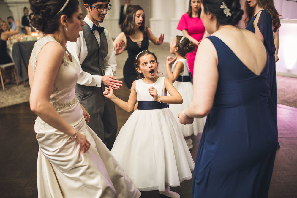 Flower Girl Dances and Sings