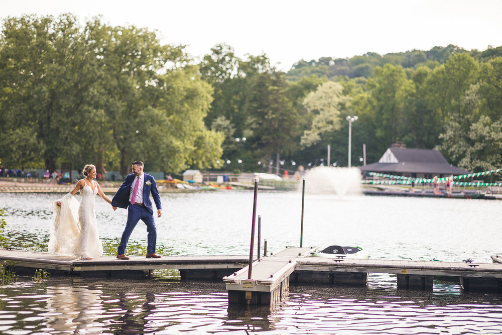 Lakeside Wedding Photography