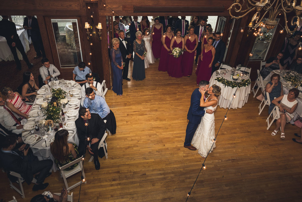 First Dance from above