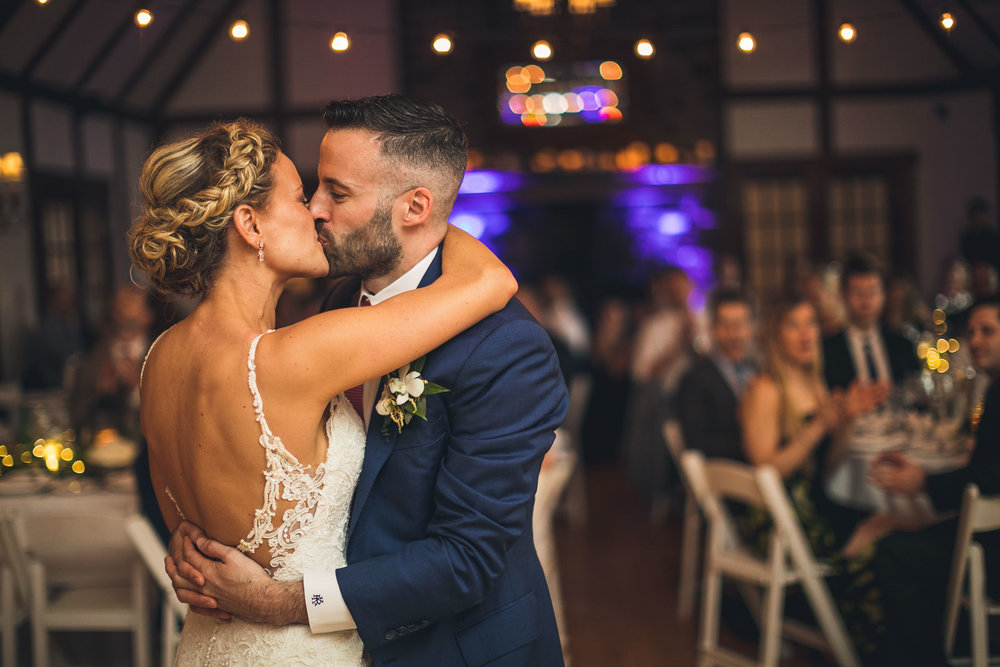 First Dance with Kiss