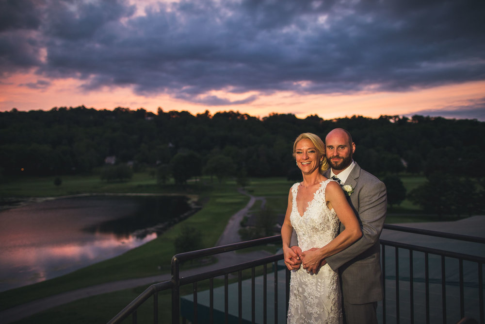 Sunset Photography Spring Brook Country Club