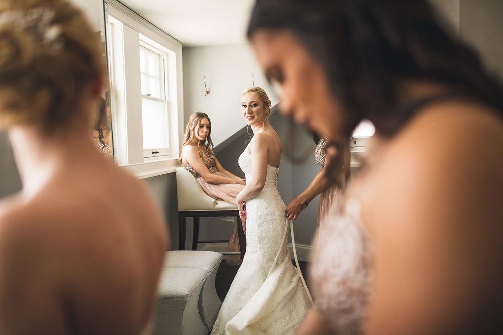 Glen Ridge Country Club Wedding Wedding Dress