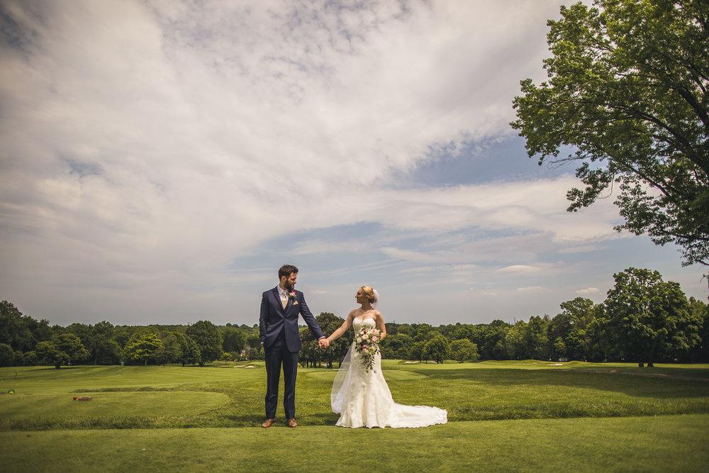 Wedding Portraits Glen Ridge Country Club Wedding
