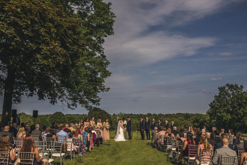 Glen Ridge Country Club Wedding Ceremony
