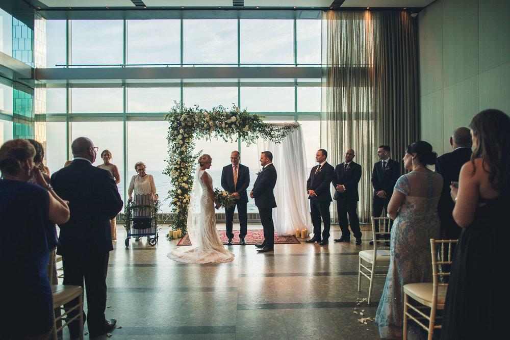 One Atlantic Wedding Ceremony