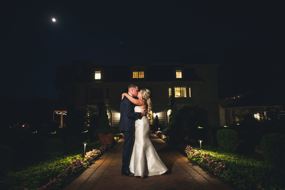 Creative Night Ashford Estate Wedding Photography