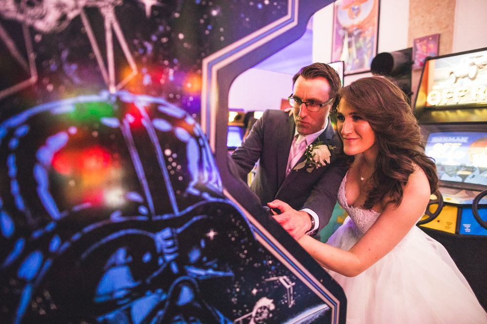 Game Vault Wedding Morristown NJ