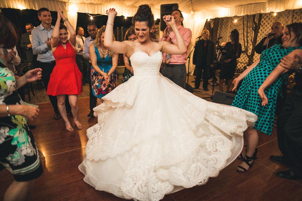 Bride Dancing Grain House