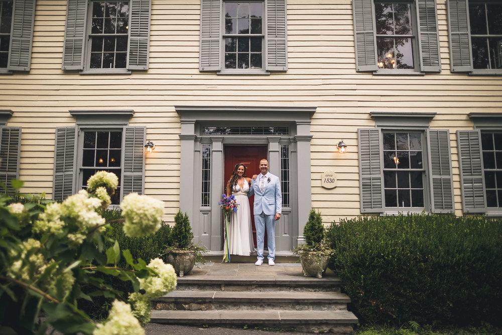 Inn at Millrace Pond Wedding Hope New Jersey