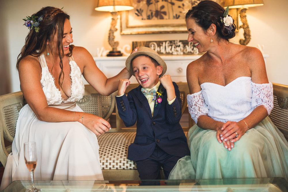 Family Wedding Hope New Jersey
