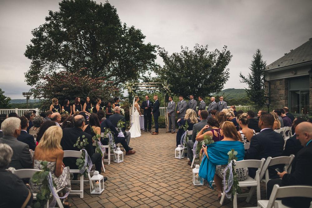Wedding Ceremony Patriot Hills New York