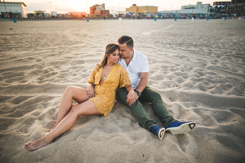 Asbury Park Engagement Photography