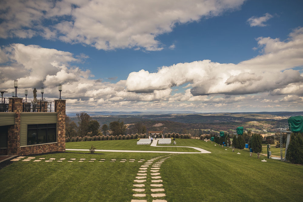 Blue Mountain Ski Resort Wedding Venue Palmerton PA