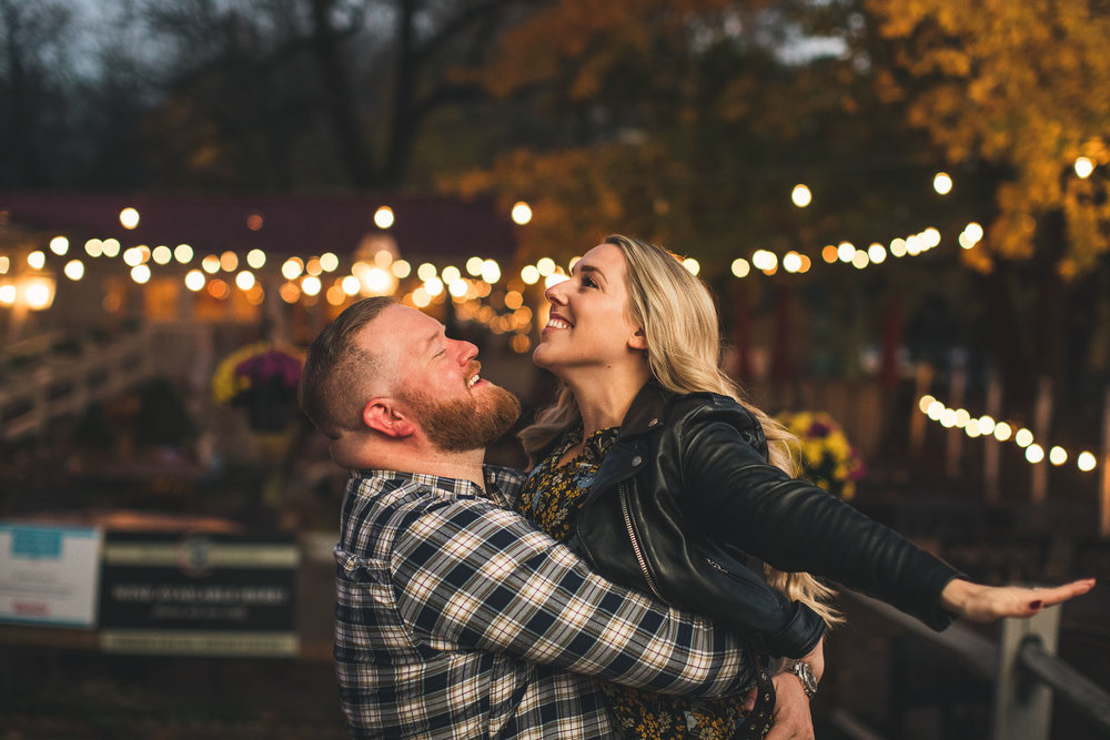 Downtown Clinton New Jersey Engagement Photography