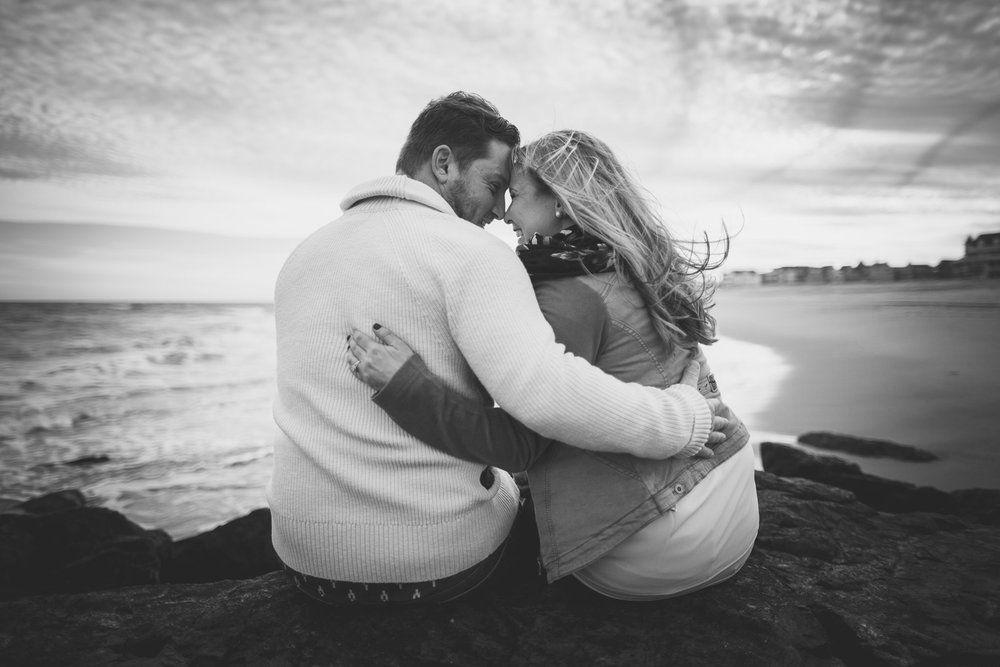 Asbury Park Cute Engagement Photos