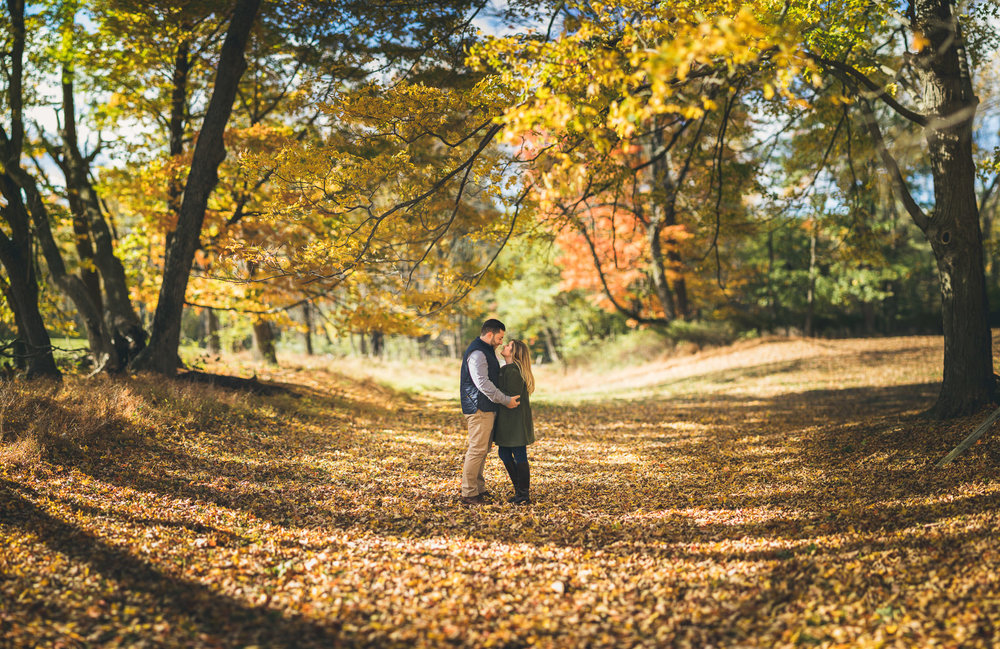 Jockey Hollow Engagement Photography