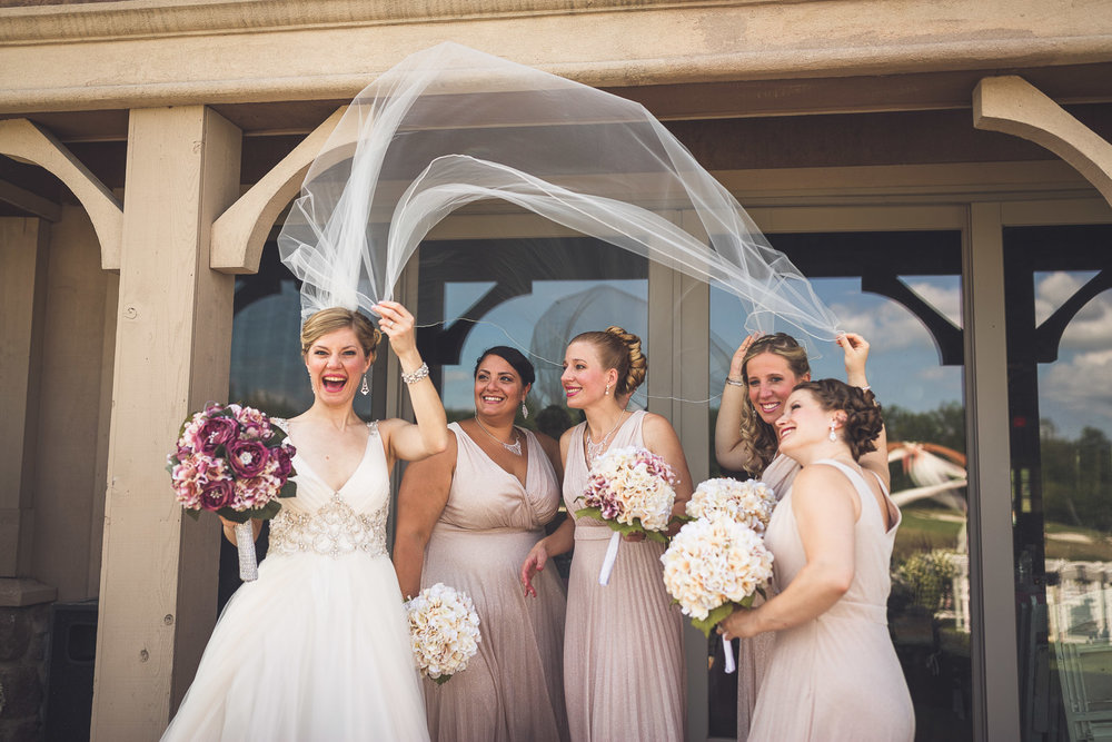 Bridesmaids Vail Wedding