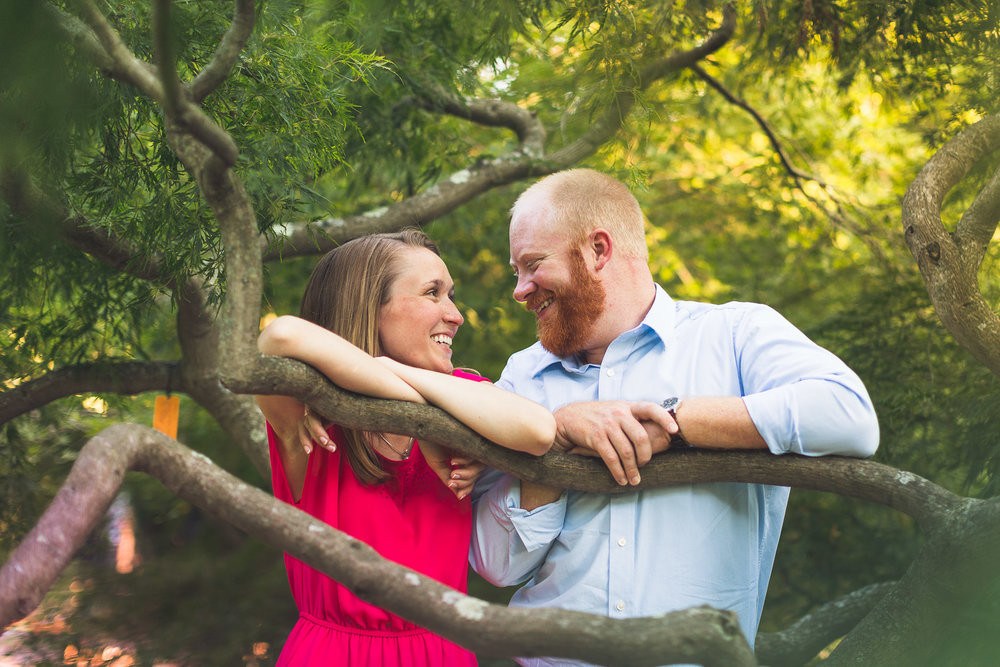 Frelinghuysen Arboretum Engagement Photography