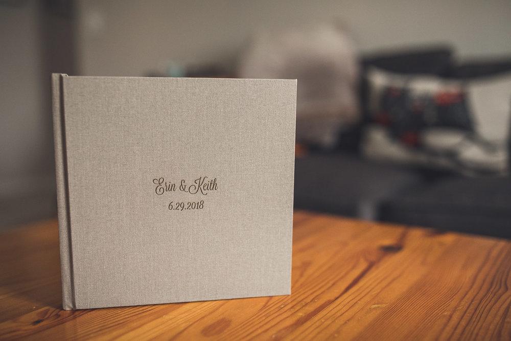 8x8 Wedding Album Embossed