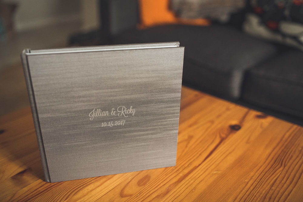 Silk Cover Wedding Album