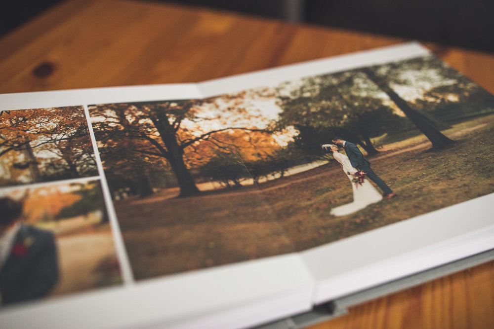 Matte Paper Wedding Album