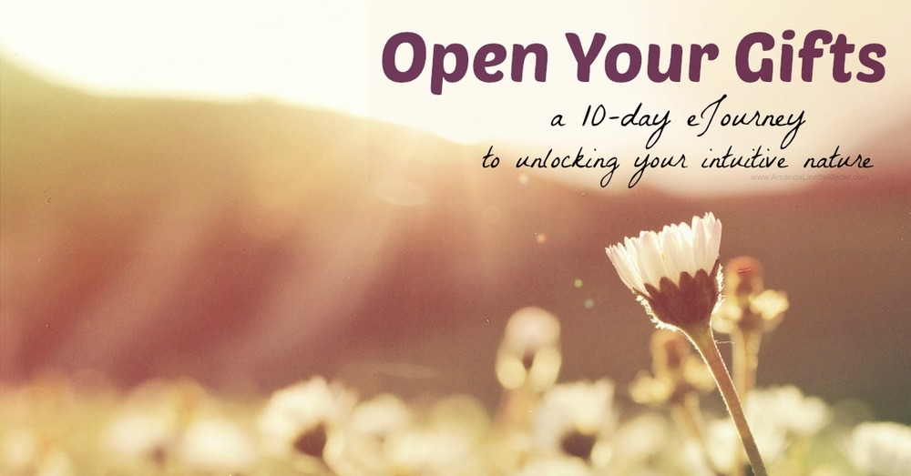 10-day e-class designed to help you find your center, open your intuitive gifts and develop a connection to Spirit