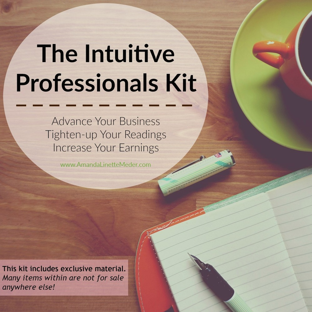 Psychic Medium Business Tips - inside the Intuitive Professionals Kit