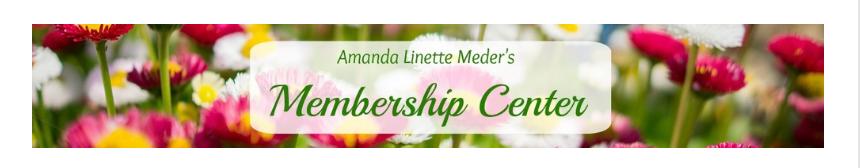 Amanda Linette Meder Membership Program - What's Inside - Virtual Tour