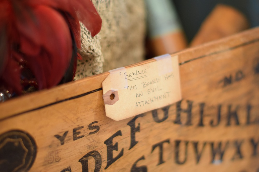 Article: How To Tell If An Antique Doll (Or Any Item) Is Haunted, Photo: Amanda Meder Location: The Creeper Gallery, in New Hope PA