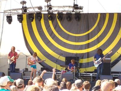 Tame Impala at V Festival Perth, 2009