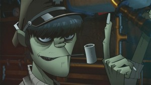 Gorillaz Pirate