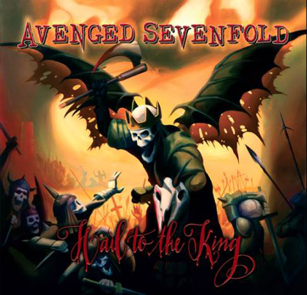 "Artwork for new Avenged Sevenfold album ""Hail To The King"""