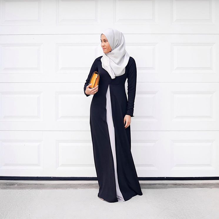 Black can really give you that extra confident to go through the day. How about #LtDessentials Yasmeen in Black & Grey as seen on @suenasar here?