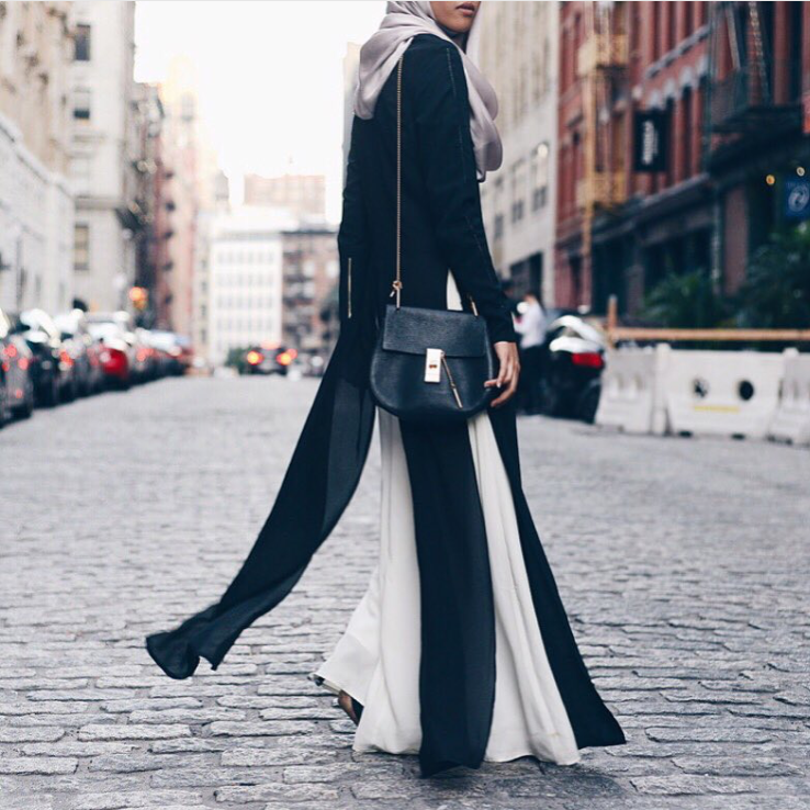 @a.nasaruddin wore Raeesa Black & Cream during her NYC  visit.