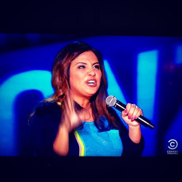 Me doing some joke on my 30 special for Comedy Central.