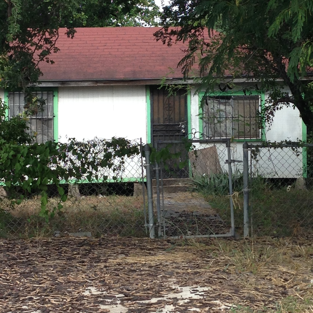 This is my childhood home in San Juan, TX. We moved to this spot after we left the diner.