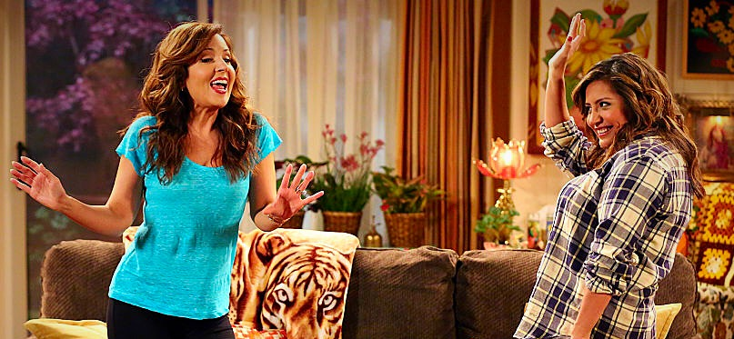 This picture is from the Cristela episode where we talked about West Side Story and that's the blanket I'm talking about in the blog.