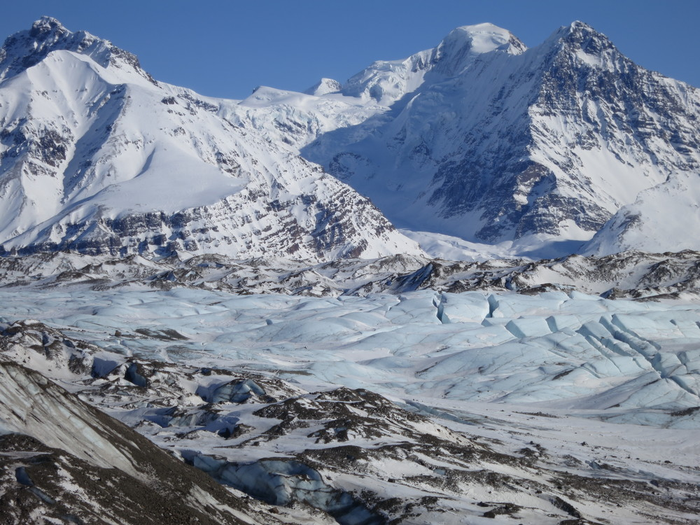 The Russell Glacier.  Photo by K. Strong.