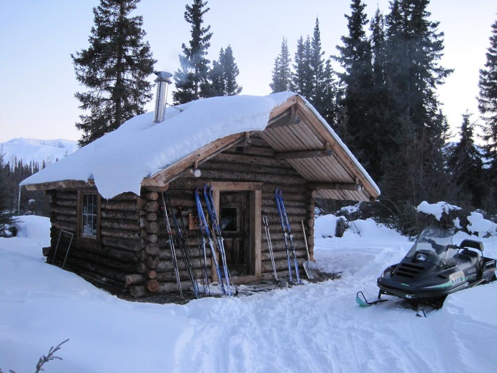 Cabin! Photo by H. Eisen.