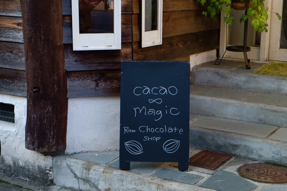 Chocolate IS magic.