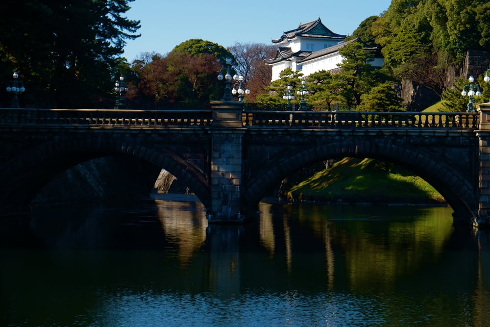 Imperial Palace Grounds, Tokyo.