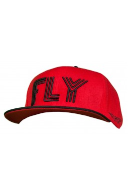 Fly Collection Triple Fly Black and Red Snapback x Fly Collection x Colabination.jpg