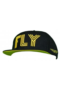 Fly Collection Triple Fly Black and Yellow Snapback x Fly Collection x Colabination.jpg