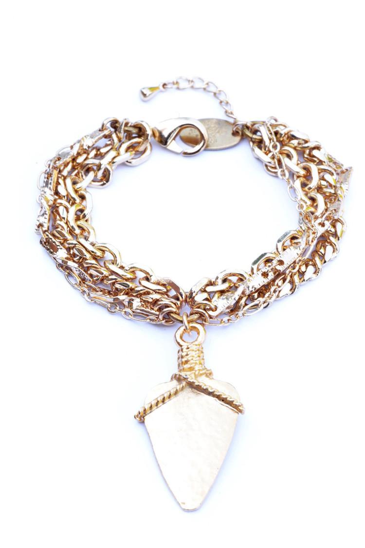 Mixed+Roped+Arrowhead+Gold-Flea+Market+Girl-Colabination-Bracelet.jpg