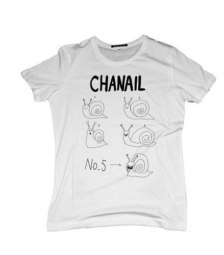 Black Score X Chanail NO. 5 X Tee Shirt X Colabination X unisex fashion.png