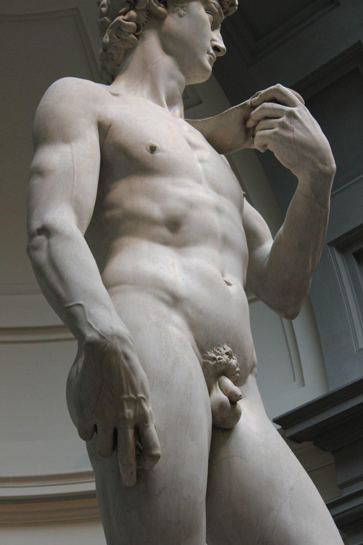 Michelangelos David.